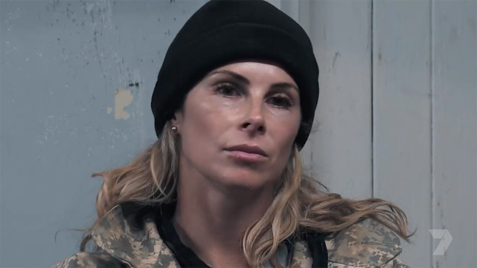 Candice Warner looks upset represents fans fury as she exits early