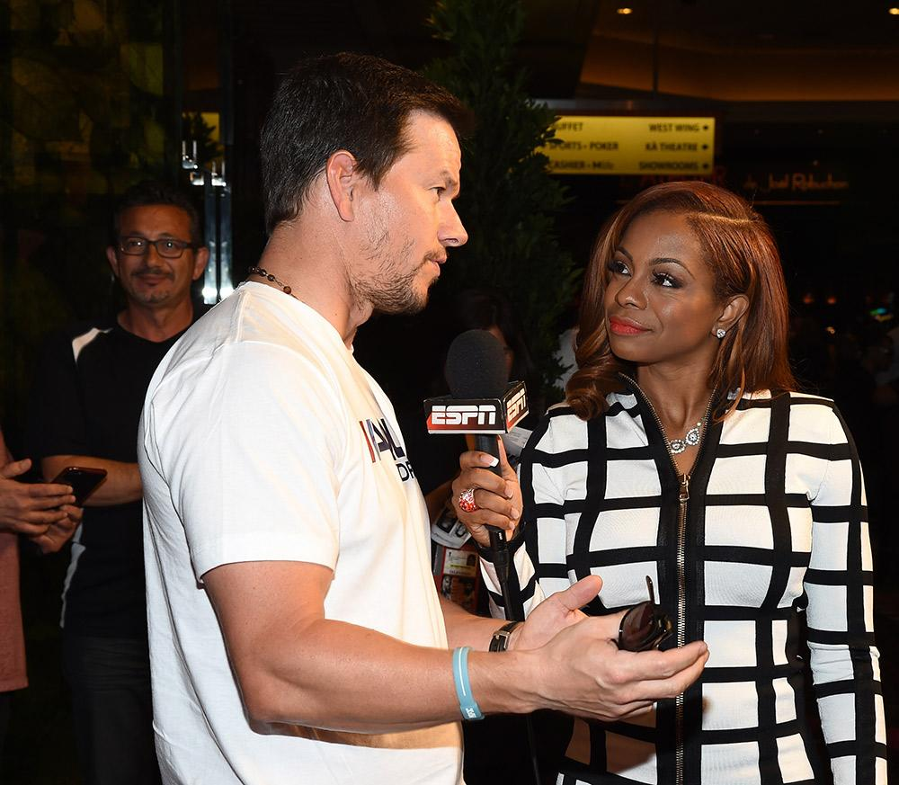 Josina Anderson interviews Mark Wahlberg