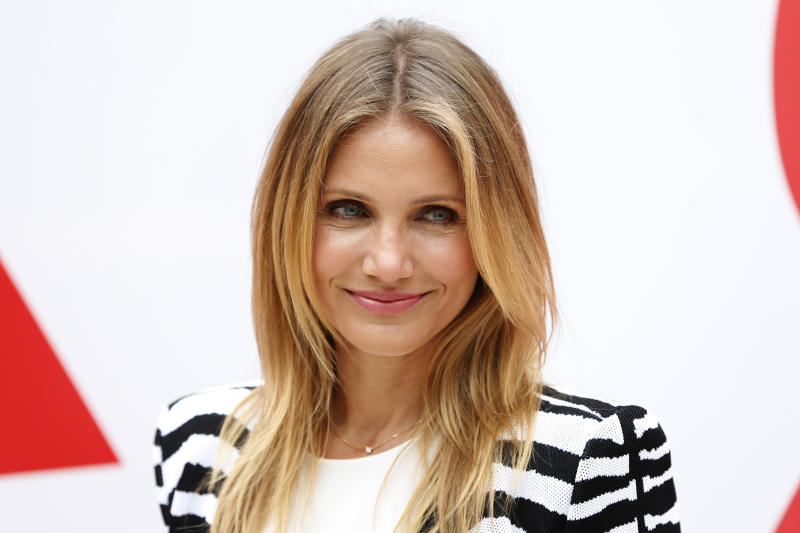 """Actress Cameron Diaz attends a photocall to promote the movie """"Sex Tape"""" in Paris September 4, 2014 . REUTERS/Charles Platiau (FRANCE - Tags: ENTERTAINMENT HEADSHOT)"""