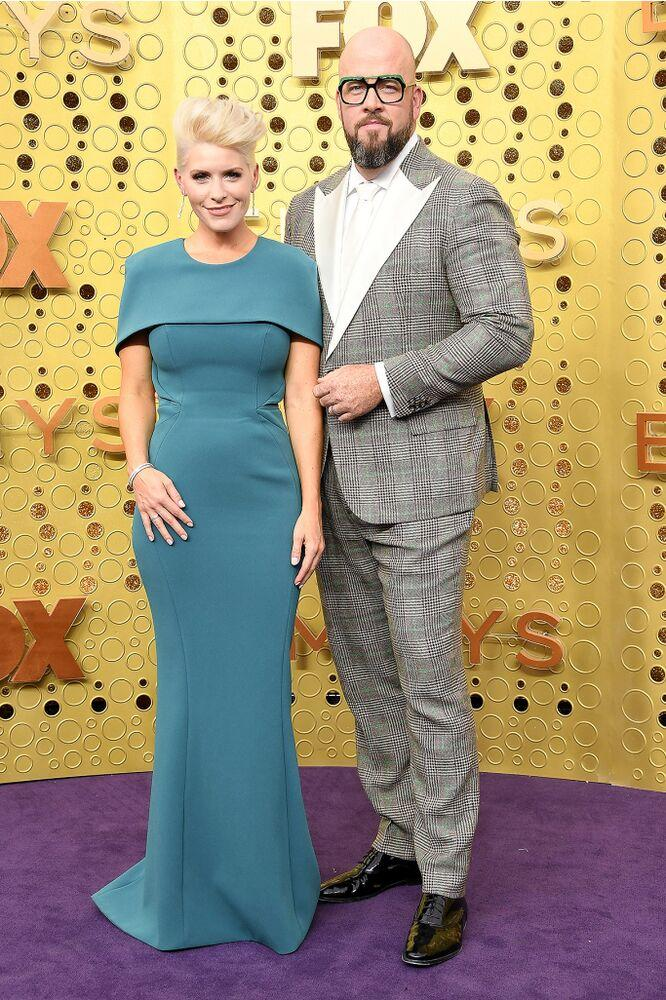 Chris Sullivan and wife Rachel | Steve Granitz/WireImage
