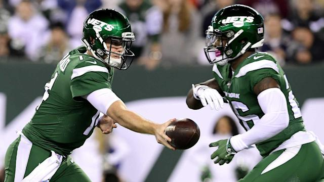 """Sam Darnold raised eyebrows when he was heard on the sideline saying he was """"seeing ghosts"""" after a dismal display against the Patriots."""