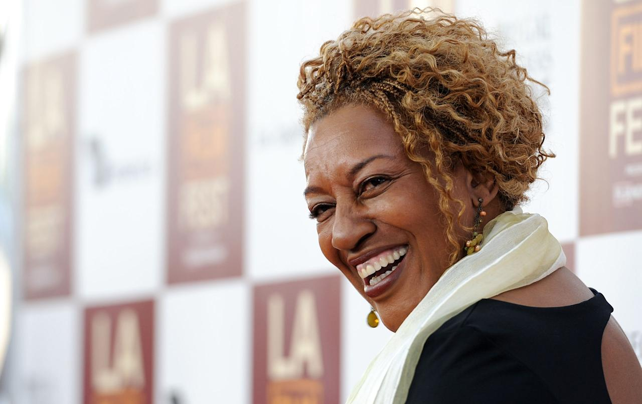 """LOS ANGELES, CA - JUNE 20:  Actress CCH Pounder arrives at Film Independent's 2012 Los Angeles Film Festival Premiere Of AFFRM & Participant Media's """"Middle Of Nowhere"""" at Regal Cinemas L.A. Live on June 20, 2012 in Los Angeles, California.  (Photo by Valerie Macon/Getty Images)"""