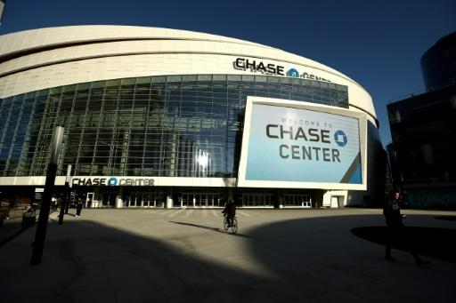 Thew new $1 billion home arena of the Golden State Warriors remains empty like all NBA venues due to the coronavirus pandemic