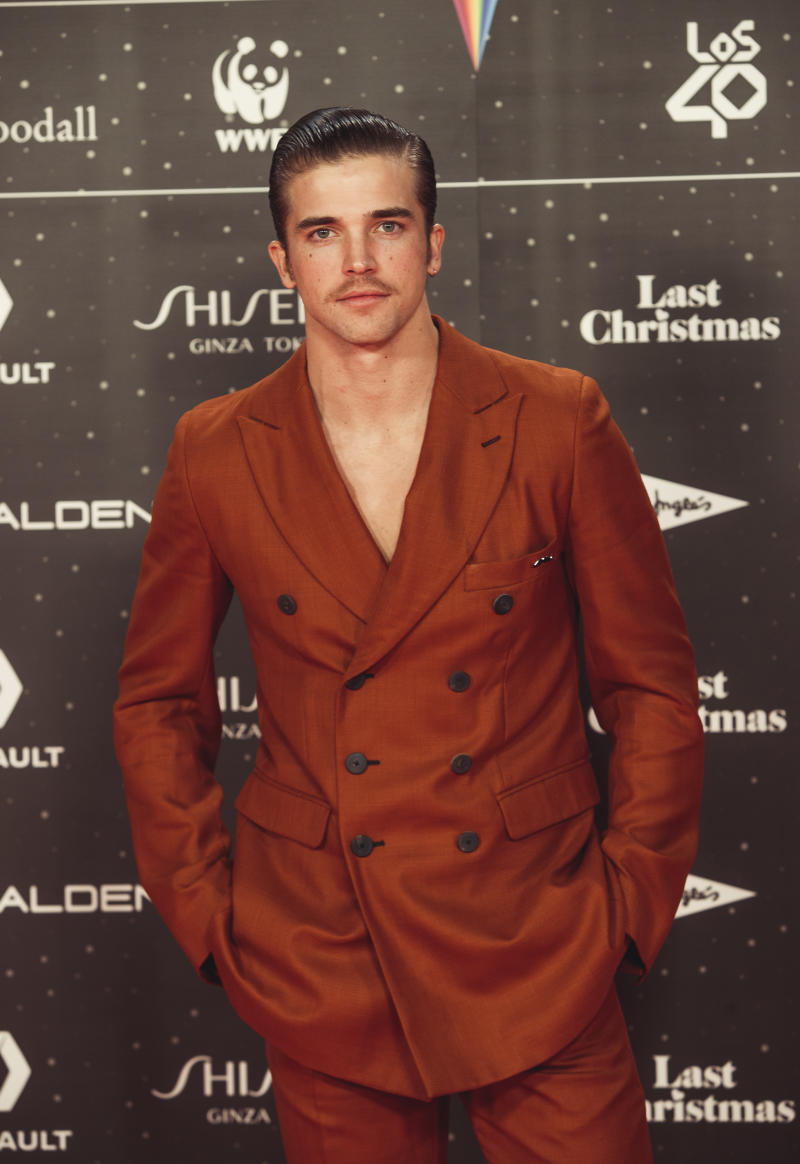 MADRID, SPAIN - NOVEMBER 08: River Viiperi attends 'Los40 music awards 2019' photocall at Wizink Center on November 08, 2019 in Madrid, Spain. (Photo by Javier Bragado/Getty Images)