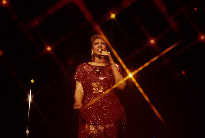 Performing in 1989 at a casino in Atlantic City, New Jersey.