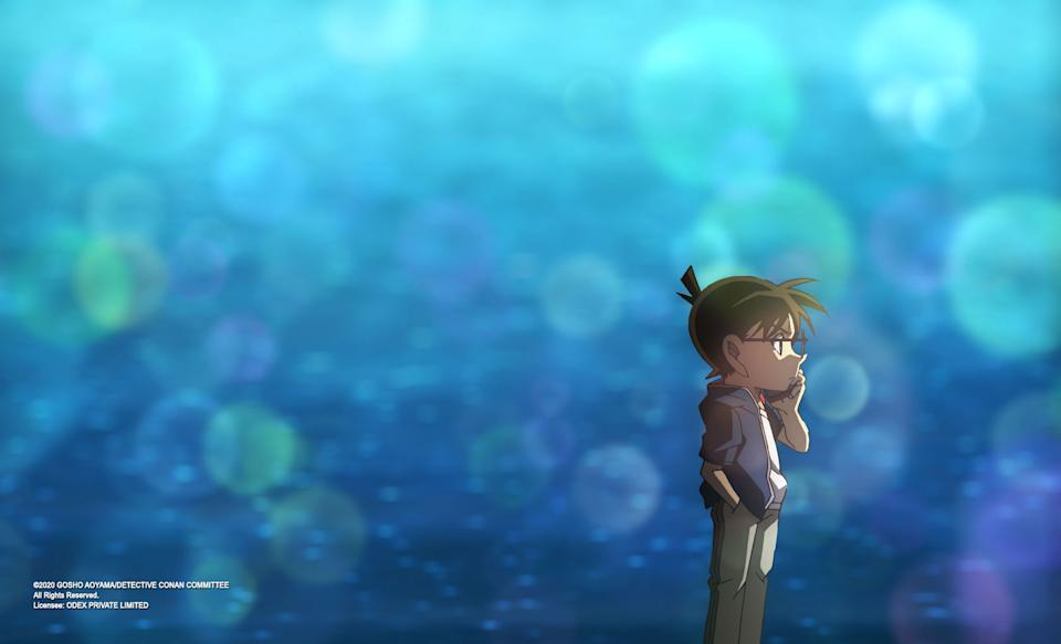 Detective Conan the Movie: The Scarlet Bullet. (Still: Odex)