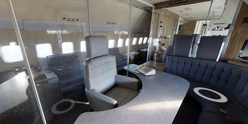 Take a Virtual Tour of the First Air Force One Jet
