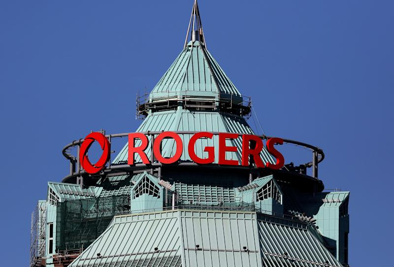 FILE PHOTO: The headquarters of Rogers Communications Inc. is seen in Toronto