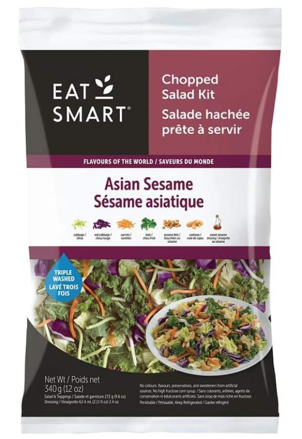 This is one of several varieties of Eat Smart chopped salad kits that have been recalled by the Canadian Food Inspection Agency. (Canadian Food Inspection Agency - image credit)