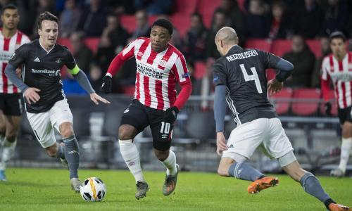 PSV angry with Tottenham as Mourinho closes in on winger Steven Bergwijn