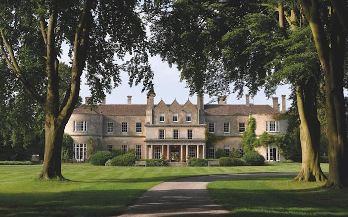 Lucknam Park sits within a 500-acre estate that encompasses meadows, paddocks and woodland