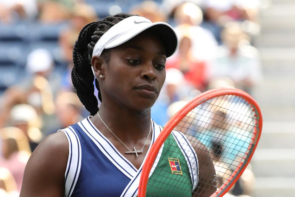USA's Sloane Stephens at the US Open