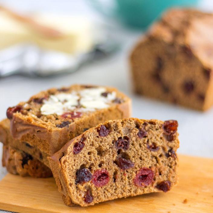 "<p>Barmbrack is a traditional Irish fruitcake that gets its name from the Irish word for ""speckled bread."" It's sprinkled with a variety of dried fruit or raisins. Although the sweet loaf is more closely associated with Halloween in Ireland, rather than St. Patrick's Day, it's great served any day with a cup of tea.</p><p><a class=""link rapid-noclick-resp"" href=""https://go.redirectingat.com?id=74968X1596630&url=https%3A%2F%2Fwww.walmart.com%2Fsearch%2F%3Fquery%3Dbread%2Bpan&sref=https%3A%2F%2Fwww.thepioneerwoman.com%2Ffood-cooking%2Fmeals-menus%2Fg35325053%2Ftraditional-irish-food-dishes%2F"" rel=""nofollow noopener"" target=""_blank"" data-ylk=""slk:SHOP BREAD PANS"">SHOP BREAD PANS</a></p>"