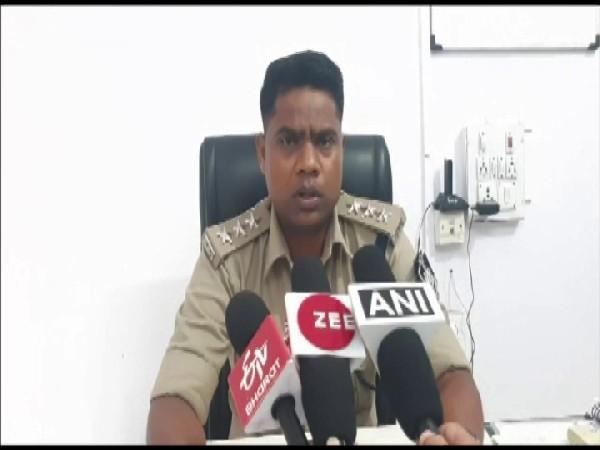 Devendra Dhurve, Chief Superintendent of Police (CSP) Dhar (Photo/ANI)