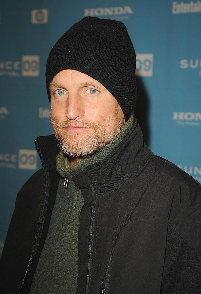 """<a href=""""http://movies.yahoo.com/movie/contributor/1800018911"""">Woody Harrelson</a> at the Sundance Film Festival screening for """"The Messengers"""" - 01/19/2009"""