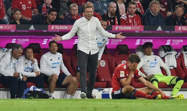 Hoffenheim coach Julian Nagelsmann slammed VAR decisions in the defeat to Bayern Munich
