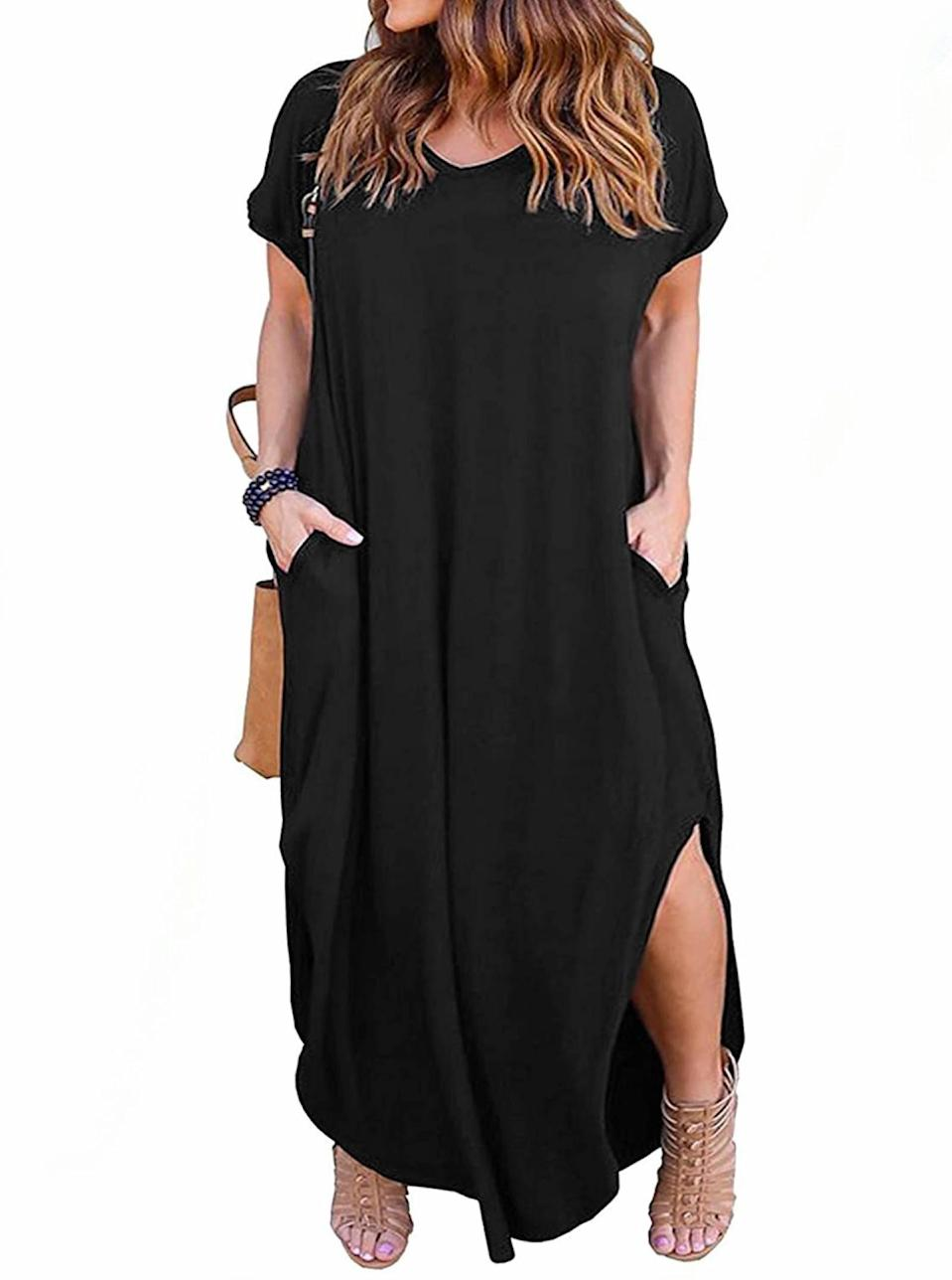 """The ideal low-key look for summertime, when the living is easy. $23, Amazon. <a href=""""https://www.amazon.com/Nemidor-Womens-Casual-Pocket-Sleeve/dp/B07MHC1M6V/"""" rel=""""nofollow noopener"""" target=""""_blank"""" data-ylk=""""slk:Get it now!"""" class=""""link rapid-noclick-resp"""">Get it now!</a>"""