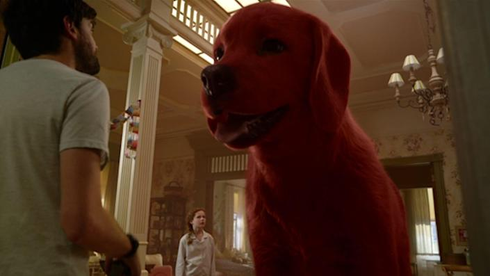 """Paramount Pictures is bringing the Scholastic character """"Clifford the Big Red Dog"""" to life on the big screen."""