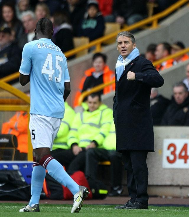 Balotelli impressed at City but had a colourful off-field life and often clashed with manager Roberto Mancini