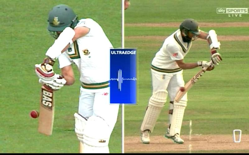 Amla edge no review - Credit: Sky Sports