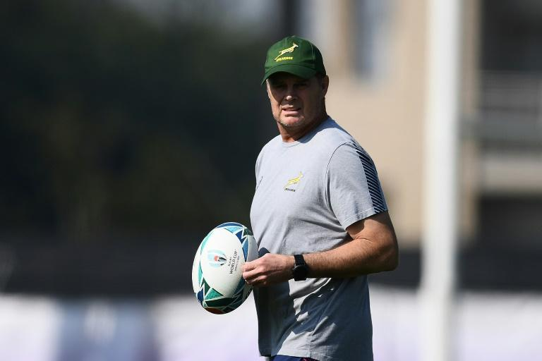 South Africa coach Rassie Erasmus is hoping to repeat the pattern of World Cup wins every 12 years