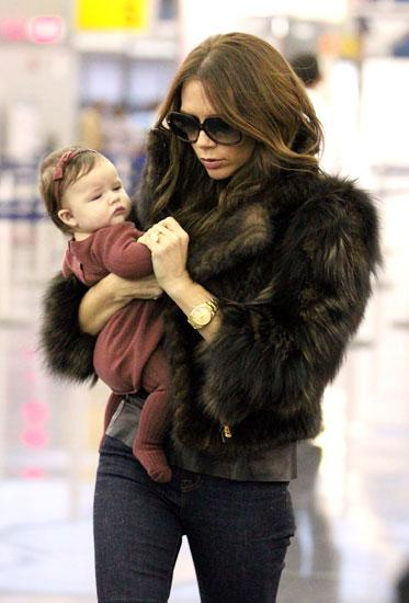 Nine-Month-Old Supermodel? Harper Beckham Receives First Modelling Contract… But Will She Accept?