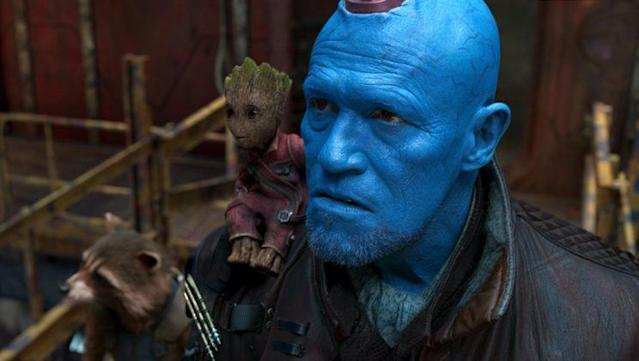<i>Guardians of the Galaxy Vol. 2,</i> from left: Rocket (voiced by Bradley Cooper), Groot (voiced by Vin Diesel), and Yondu (Michael Rooker). (Photo: Marvel Studios)
