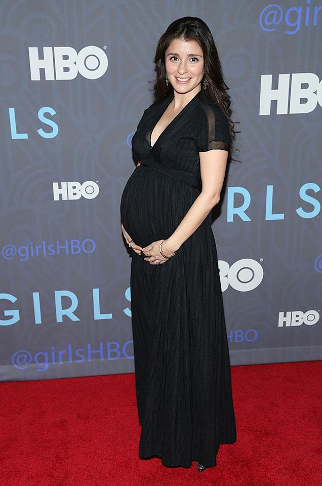 "Shiri Appleby attends HBO's premiere of ""Girls"" Season 2 at the NYU Skirball Center on January 9, 2013 in New York City."