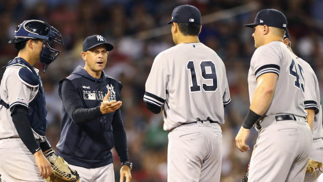 Masahiro Tanaka struggled as the New York Yankees were crushed by the Boston Red Sox.