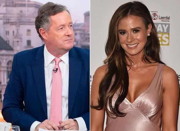 Piers Morgan and Camilla Thurlow