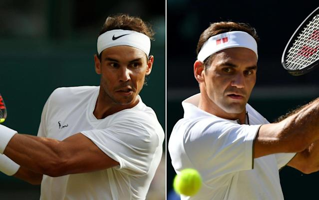 Nadal will take on Federer for a place in Sunday's final - AFP