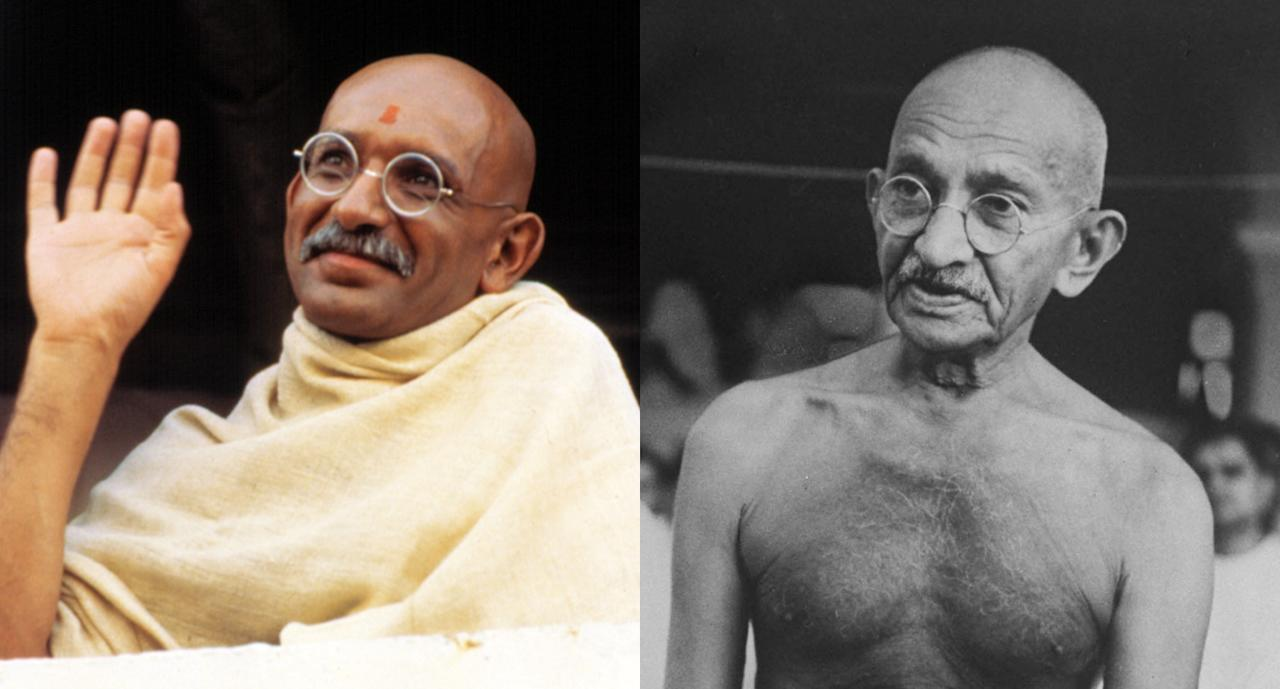 <p>In arguably his most unforgettable role, Ben Kingsley won one of <i>Gandhi</i>'s eight Oscars for his portrayal of the nonviolent Indian revolutionary. (Photo: Courtesy of Everett/Getty Images) </p>