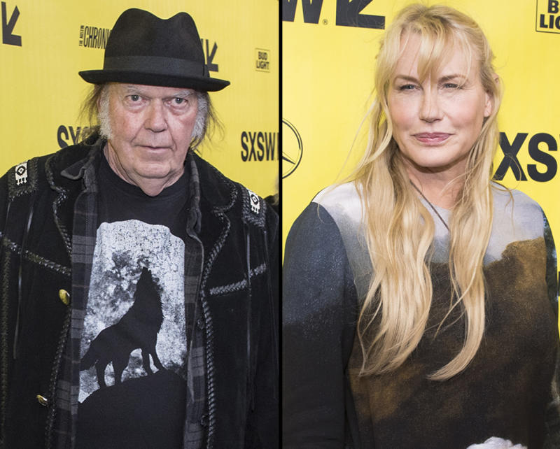 Daryl Hannah, Neil Young at SXSW: A look at their romance
