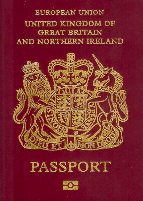 <em>The UK passport has slipped to 5th place in the list (Wikipedia)</em>