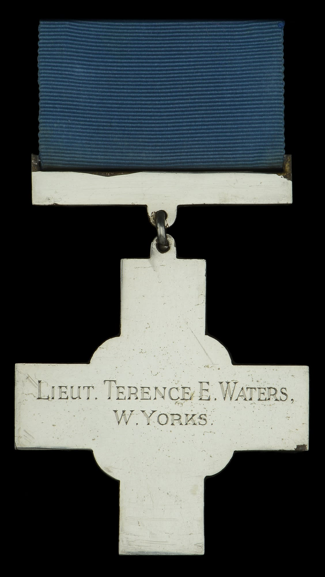 The George Cross is being sold by Lt Waters family who live in the Bristol area (Dix Noonan Webb/PA)