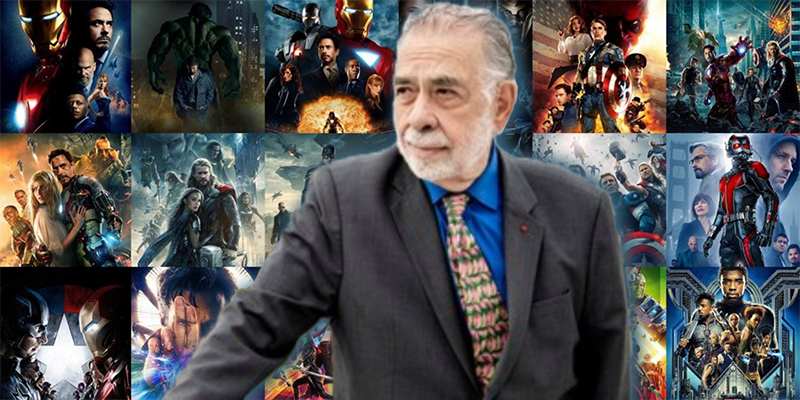 Francis Ford Coppola photo by Eric Vernazobres Marvel Cinematic Universe Scorsese despicable