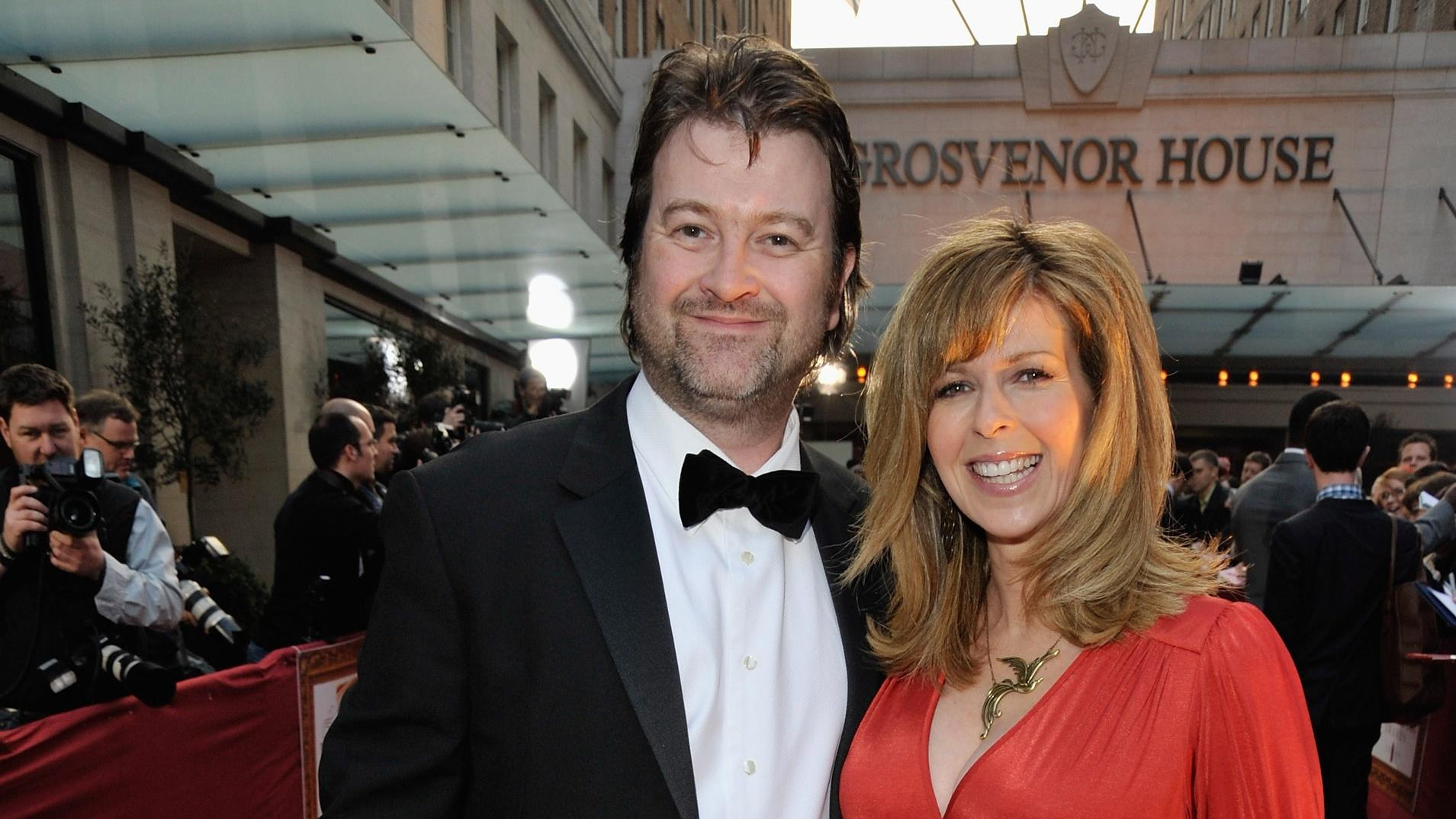 Kate Garraway and Derek Draper at the Galaxy British Book Awards in 2009 (Jon Furniss/WireImage)
