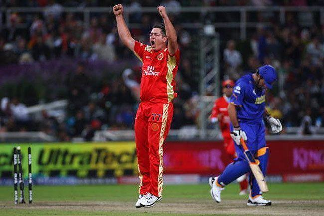 Rajasthan Royals scored the 2nd lowest team total in the history of the IPL against RCB in 2009
