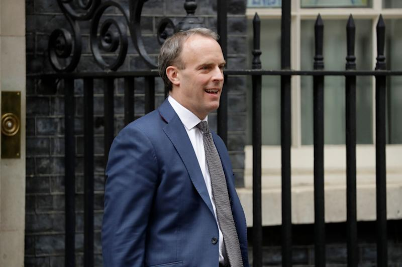 <strong>Foreign Secretary Dominic Raab</strong> (Photo: ASSOCIATED PRESS)