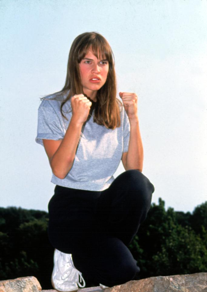 <strong>Hilary Swank - The Next Karate Kid (1994)</strong><br><br>Swank might have two Best Actress statuettes under her belt (for Boys Don't Cry and Million Dollar Baby) but her first leading role was kickin' it with Mr Miyagi in the fourth installment of the Karate Kid series.
