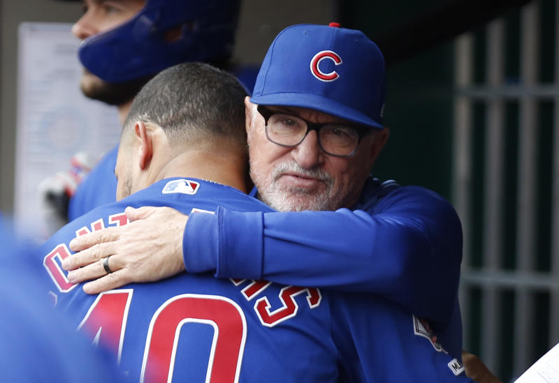 Willson Contreras commissions heart-warming painting commemorating his relationship with Joe Maddon