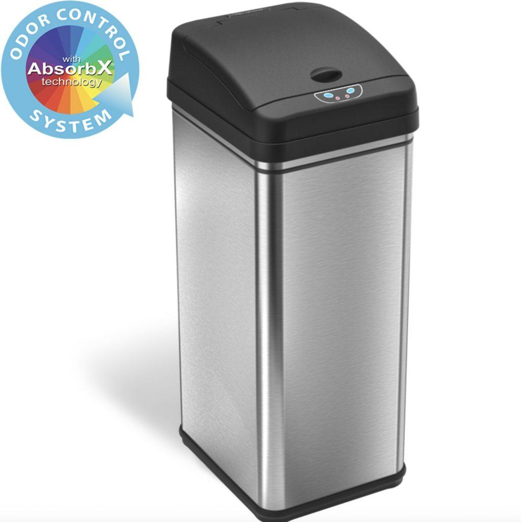 iTouchless 13 Gallon Touchless Sensor Kitchen Trash Can