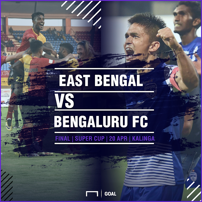 GFX East Bengal Bengaluru FC 2018 Super Cup final
