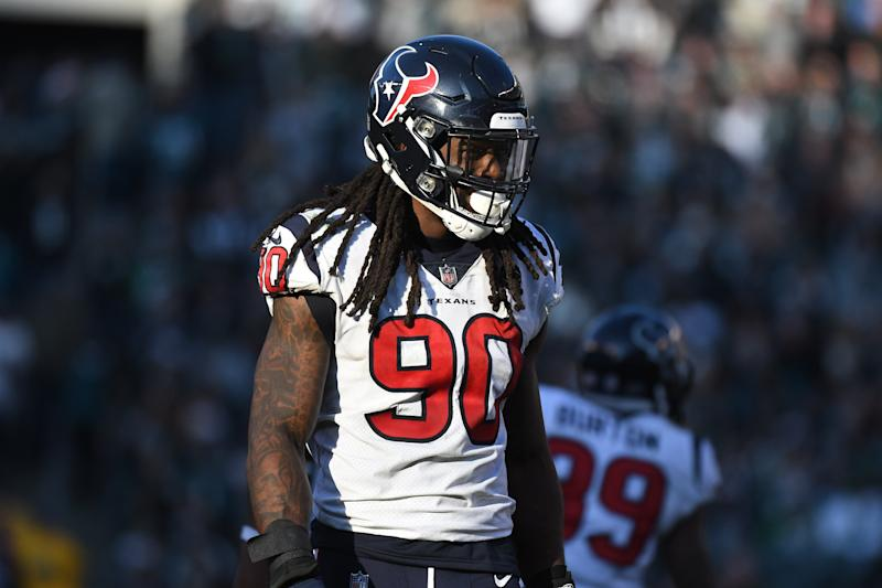 Jadeveon Clowney and the Texans couldn't agree to a long-term deal. (Getty Images)