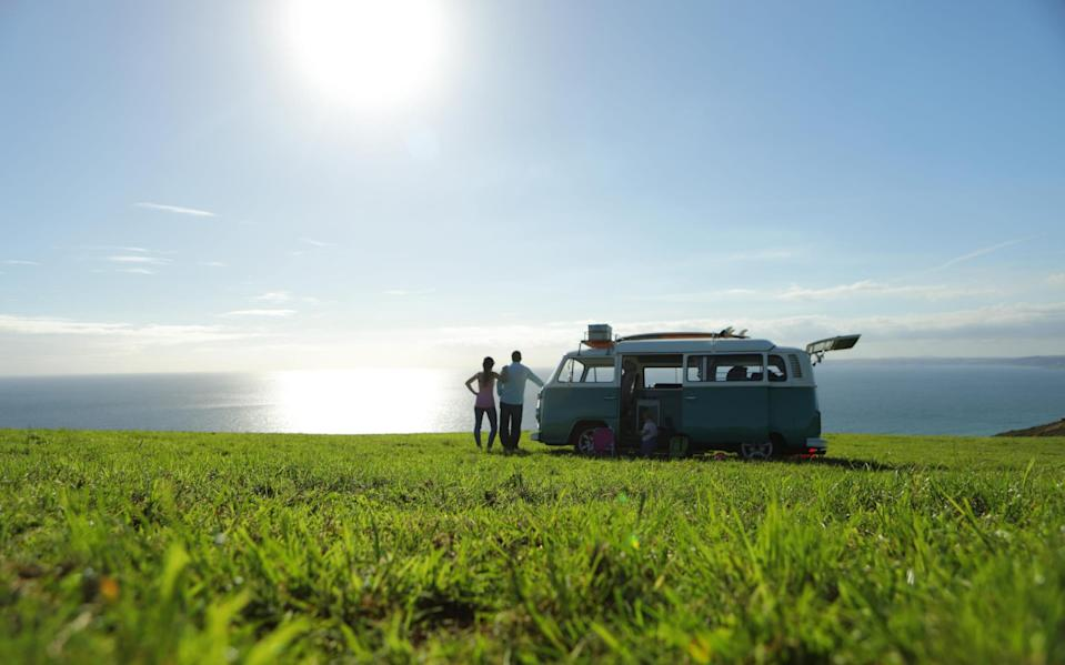 Sales of motorhomes and campervans boomed in 2020 - Getty