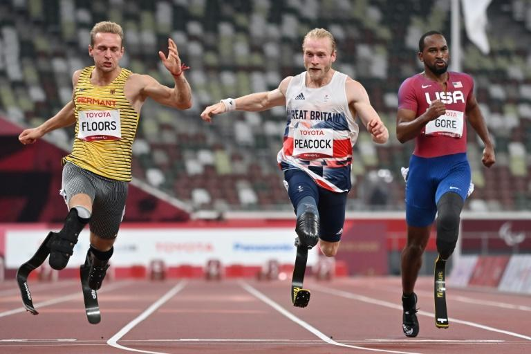 """Britain's Jonnie Peacock said he was """"really annoyed"""" after losing his Paralympic sprint title (AFP/Kazuhiro NOGI)"""