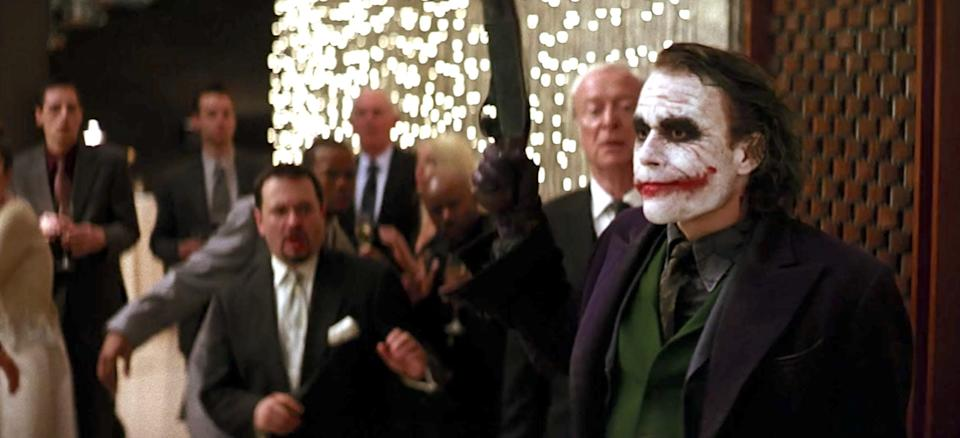 The Joker doesn't really care about harming the other guests.