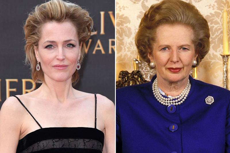 "Gillian Anderson sarà Margaret Thatcher in ""The Crown"" (Getty Images)."