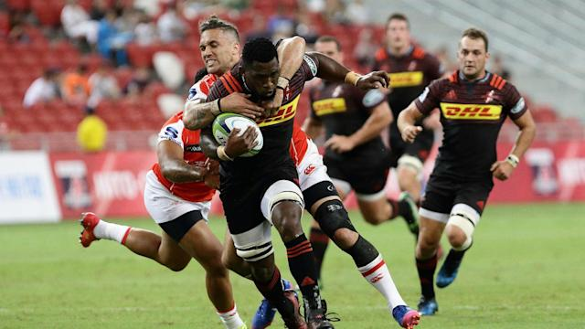 Late tries from Bongi Mbonambi and Bjorn Basson ensured the Stormers came out victorious over the spirited Sunwolves in Super Rugby.