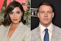 """The model and running back for the Carolina Panthers have hit the <a href=""""https://people.com/style/olivia-culpo-dating-christian-mccaffrey-six-months-going-great/"""" rel=""""nofollow noopener"""" target=""""_blank"""" data-ylk=""""slk:six-month dating mark"""" class=""""link rapid-noclick-resp"""">six-month dating mark</a> and they're still going strong. """"We have so much in common,"""" Culpo told PEOPLE ahead of the <a href=""""https://people.com/human-interest/miss-south-africa-zozibini-tunzi-crowned-miss-universe-2019/"""" rel=""""nofollow noopener"""" target=""""_blank"""" data-ylk=""""slk:2019 Miss Universe competition"""" class=""""link rapid-noclick-resp"""">2019 Miss Universe competition</a>, where she — a former Miss Universe herself — joined <a href=""""https://people.com/tag/vanessa-lachey/"""" rel=""""nofollow noopener"""" target=""""_blank"""" data-ylk=""""slk:Vanessa Lachey"""" class=""""link rapid-noclick-resp"""">Vanessa Lachey</a> as backstage correspondents along with host Steve Harvey. """"It's really easy for us, so I'm grateful,"""" Culpo added, of her bond with McCaffrey. The two were first linked in early 2019, according to reports: Sports writer Dov Kleiman said <a href=""""https://twitter.com/NFL_DovKleiman/status/1123663058671419392"""" rel=""""nofollow noopener"""" target=""""_blank"""" data-ylk=""""slk:they followed each other"""" class=""""link rapid-noclick-resp"""">they followed each other</a> on Instagram in April and the two were soon liking one another's photos, <a href=""""https://nypost.com/2019/05/02/christian-mccaffrey-sets-sights-on-olivia-culpo-after-her-messy-nfl-breakup/"""" rel=""""nofollow noopener"""" target=""""_blank"""" data-ylk=""""slk:according to Page Six"""" class=""""link rapid-noclick-resp"""">according to Page Six</a>."""